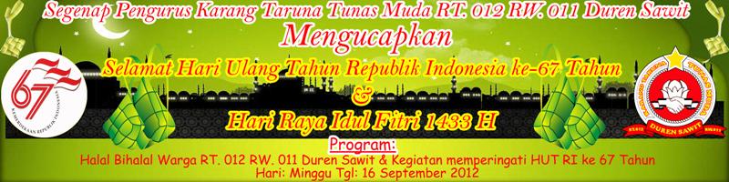 Banner Halal Bihalal Idul Fitri Idul Fitri