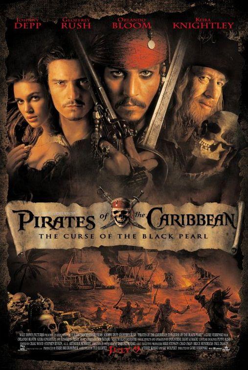 Pirates of Caribbean Black Pearl poster