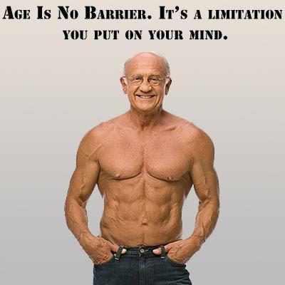 Η ηλικία είναι μόνο στο μυαλό....Fitness Motivation!!!
