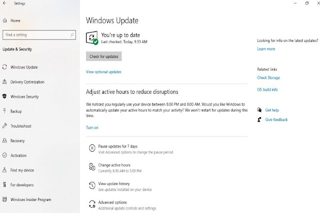 Update your Windows 10 for some fixes of the system if needed