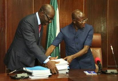 The Truth About 'Huge Debts' Oshiomhole Left For Me - Obaseki