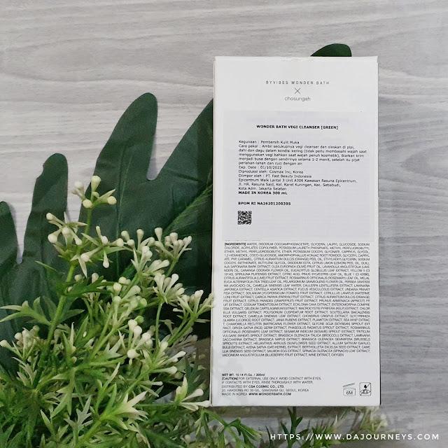 Review Wonder Bath Super Vegitoks Cleanser Green