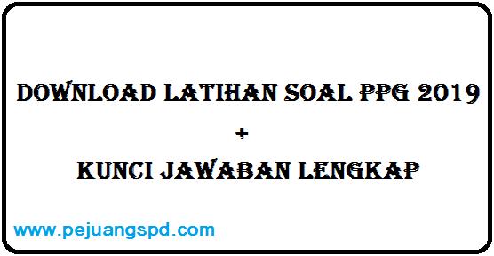 Download  Latihan Soal Pretest PPG Kementerian Agama + Kunci Jawaban Lengkap