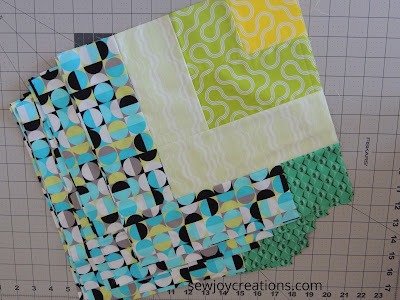 Dropping In quilt pattern Sew Joy Creations