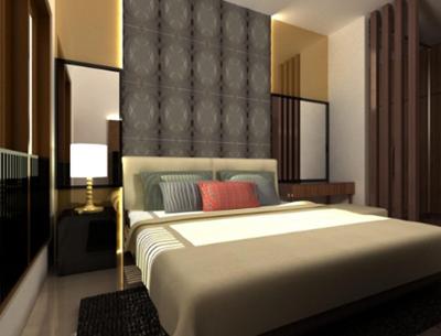 desain kamar tidur hotel minimalis