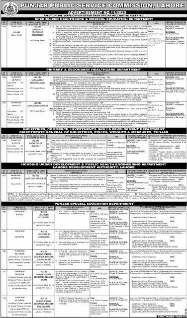 Punjab Public Service Commission Lahore