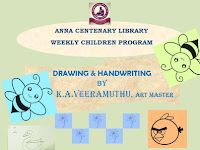 Weekly Children Program - Drawing and Handwriting - 01.12.2019