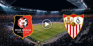 مشاهدة مباراة اشبيلية ورين بث مباشر بتاريخ 28-10-2020 في دوري أبطال أوروبا