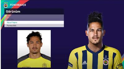 PES 2021 Faces Mauricio Lemos by PES Football Turkey