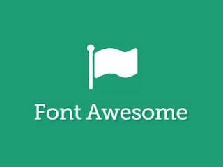 Cara Menggunakan Font Awesome dengan Benar (Clear Render Css)