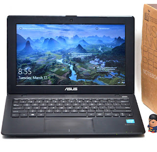 Laptop 2nd ASUS X200M 11.6-Inch Fullset