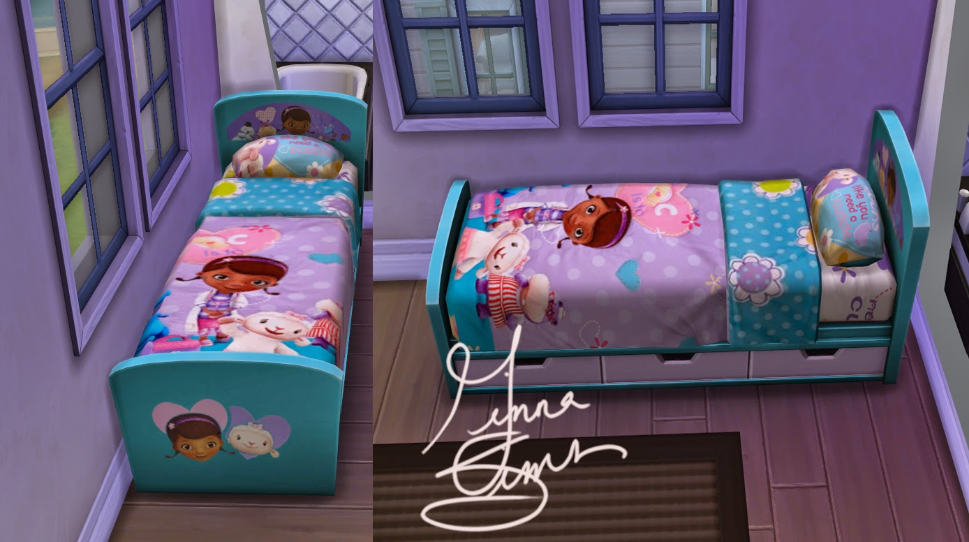doc mcstuffins bedroom my sims 4 doc mcstuffins children s bed by ginnawilson 11456