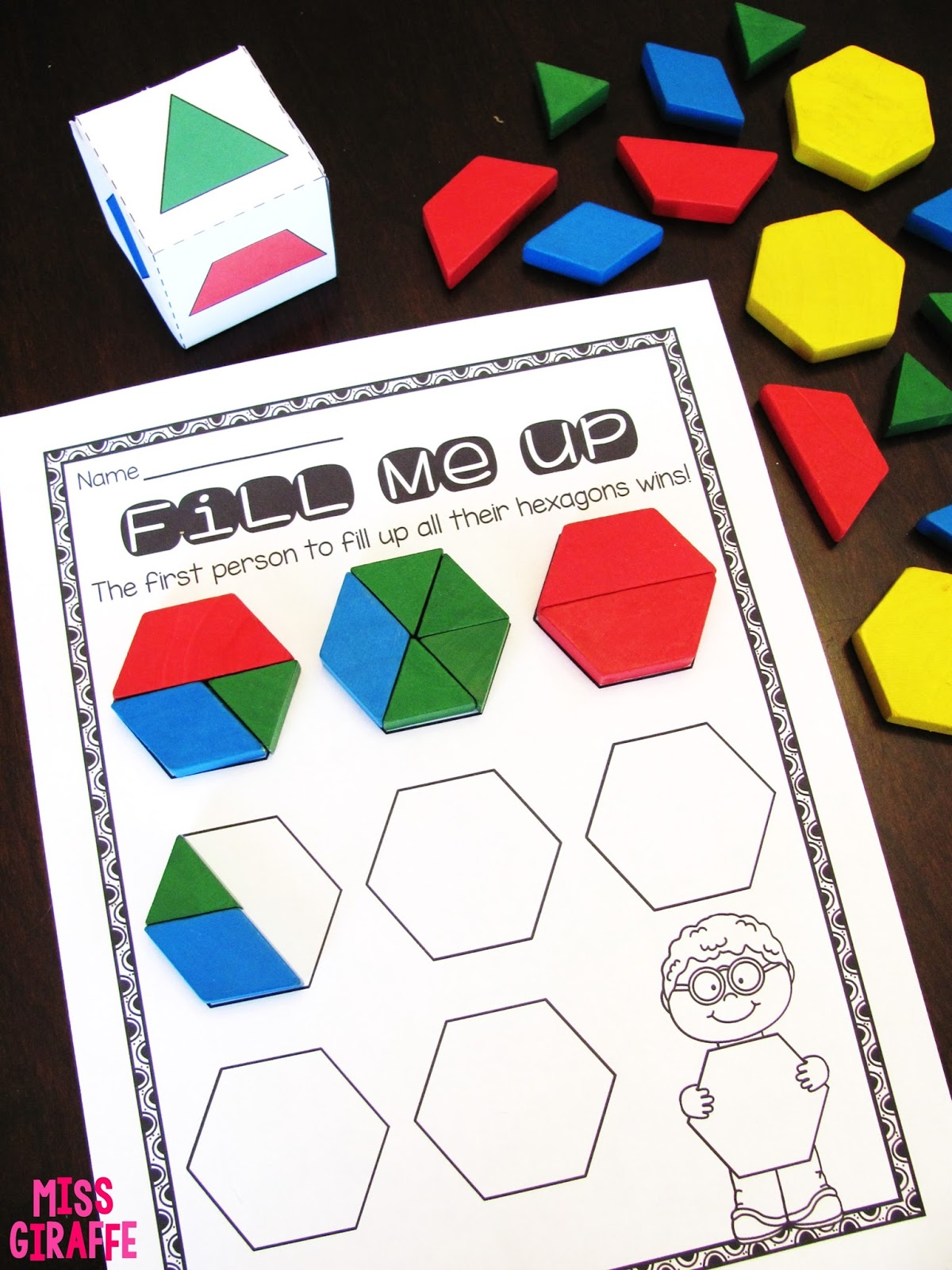 how to make a picture into geometric shapes