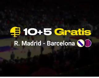 bwin promo Euroliga Real Madrid vs Barcelona 11-3-2021
