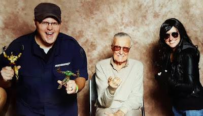 Chauncey Rachel and Stan Lee