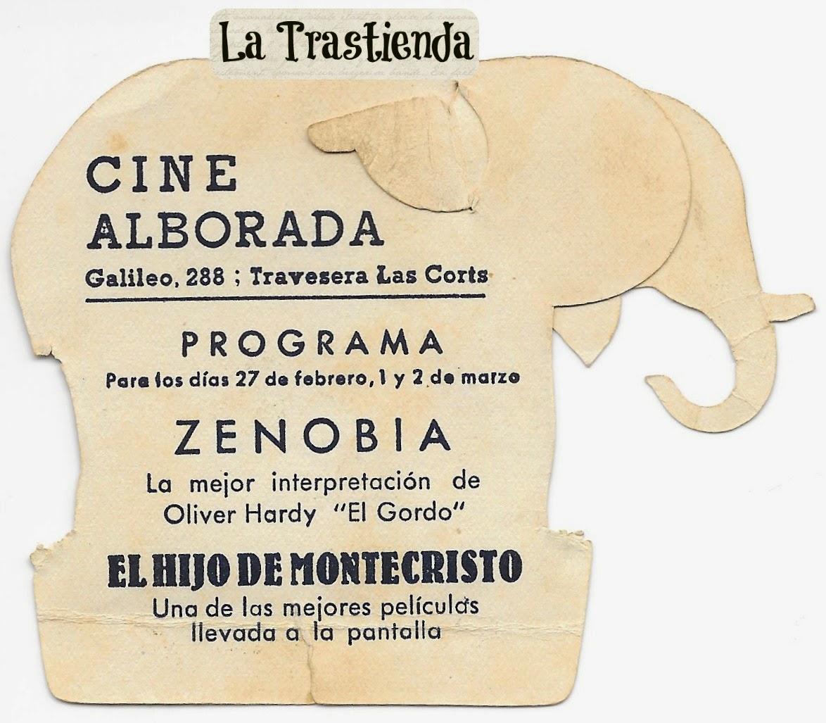 Programa de Cine - Zenobia - Oliver Hardy - Harry Langdon