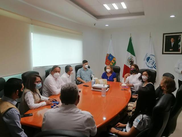 Gobernación y gobierno de Quintana Roo se reúnen con familiares de Victoria Salazar