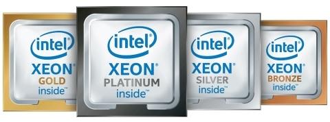 Xeon Platinum Gold Silver Bronze