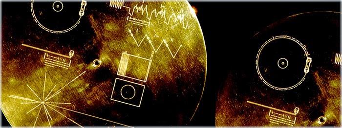 disco de ouro da sonda voyager conteudo da mensagem