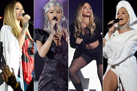 rita Rita Ora Is Mocked For Her Multiple Outfits While Hosting MTV EMAs Foreign