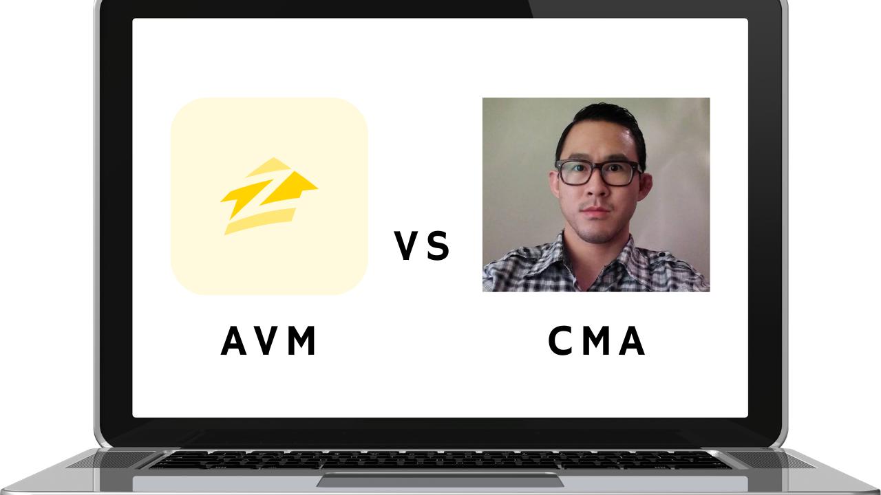 Thumbnail of Zillow AVM vs Alex Sung's CMA Blog Article