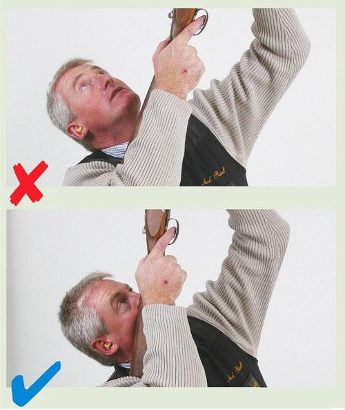 اساليب الرماية  , الصحيحة بالصور