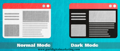 How to Add Night mode or Dark mode button on Blogger navigation bar in Blogger in Hindi
