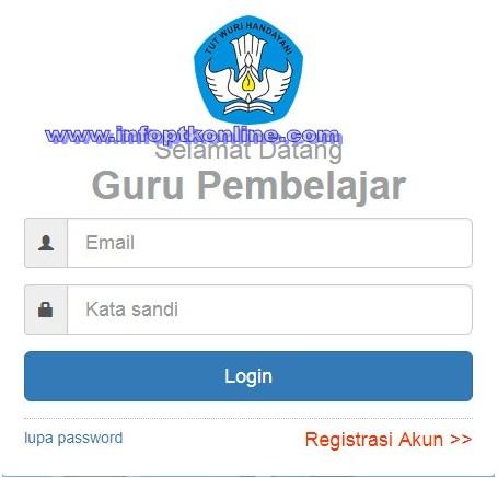 Cek Info PTK / GTK Online Tanpa Loading