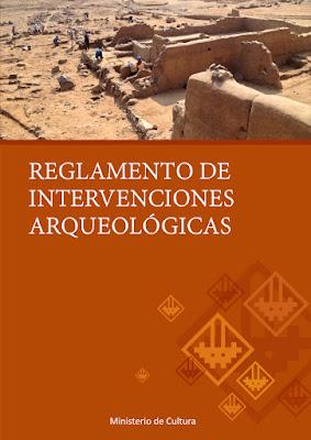 Reglamento de Intervenciones Arqueológicas (RIA)