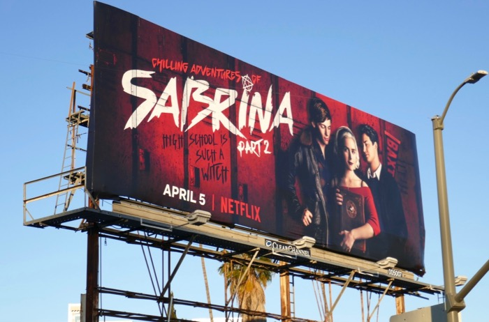 Chilling Adventures Sabrina season 1 Part 2 billboard