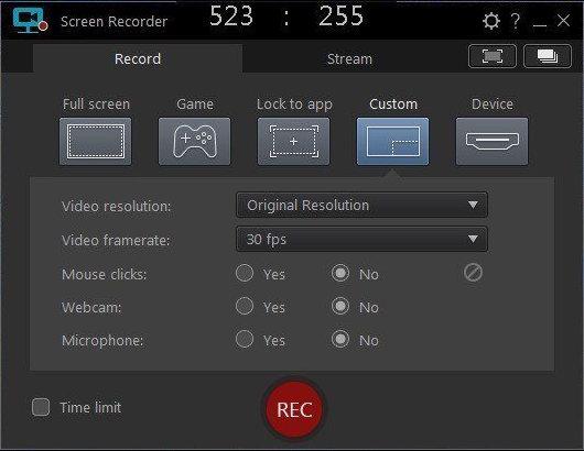 Screenshot CyberLink Screen Recorder Deluxe 4.2.2.8482 Full Version