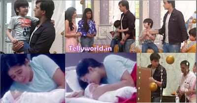 "Yeh Rishta Kya Kehlata Hai Episode Spoiler 26th July 2019 "" Kairav Doesn't Leave Kartik Naira Remembers Kairav's Birth  "" Video and Written Update."