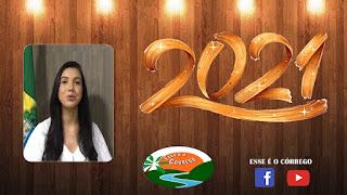 Mensagem de ano novo da Vereadora Sara