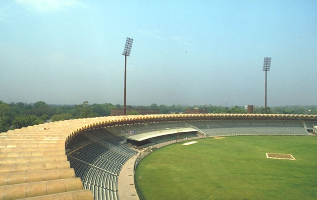 Gaddafi Stadium Top View