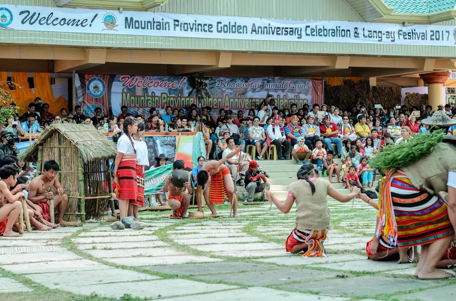 Mountain Province Golden Anniversary Celebration and 13th Lang-Ay Festival Bontoc Cordillera Administrative Region Philippines