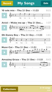 تطبيق هاتفي ScoreCloud Express يكتب النوتة الموسيقية لغنائك حمله الآن على هذه الأجهزة
