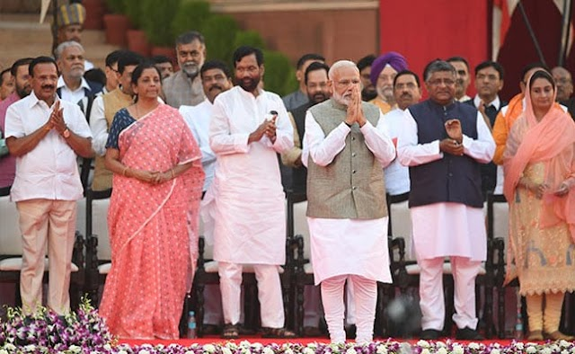 Complete List of Cabinet Ministers by Narendra Modi Government 2019