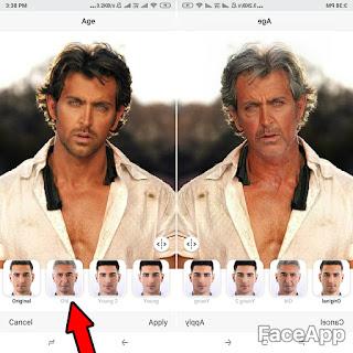 Face App Old Age Photo Convert | Funny Age Filters-ओल्ड फेस फनी  फोटो कैसे बनाये