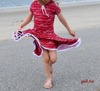 Off Shoulder Sommerwunderkleid