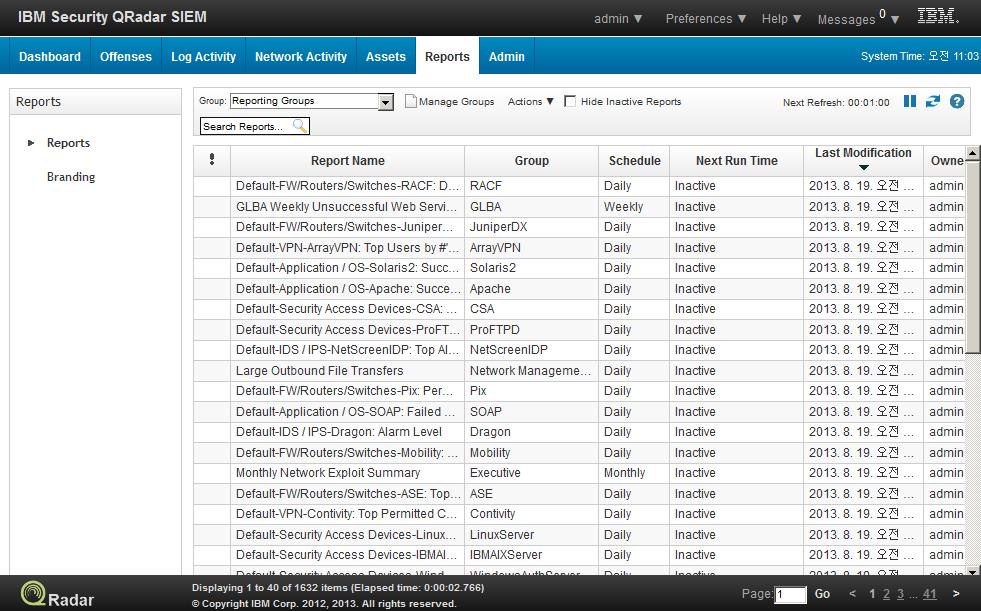 IBM QRadar 2) Main Features