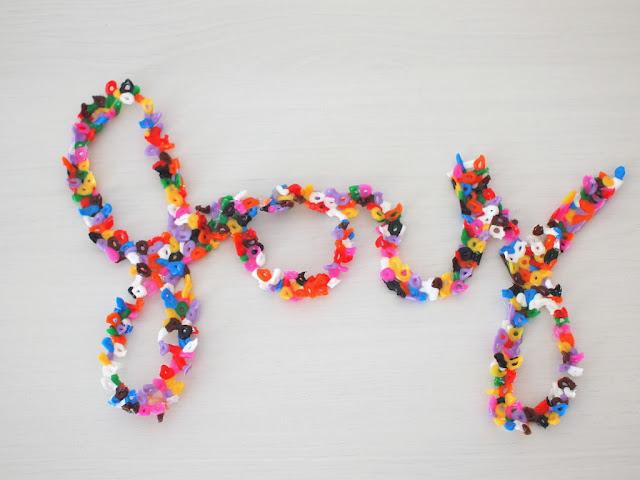 Make Perler Bead Bowls And Words Pink Stripey Socks