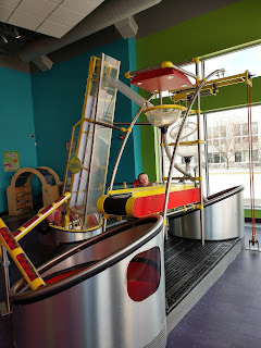 toy grain elevator at LaunchPad Children's Museum in Sioux City