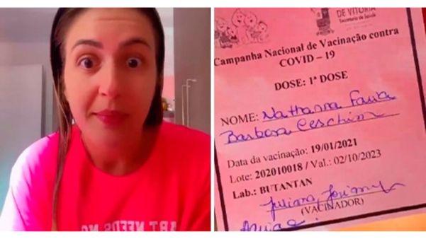 ENFERMEIRA QUE IRONIZOU DA VACINA CORONAVAC É DEMITIDA DE HOSPITAL NO ESPÍRITO SANTO.