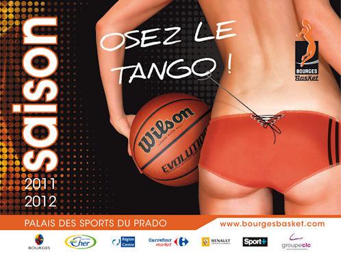 Affiche rencontre basket