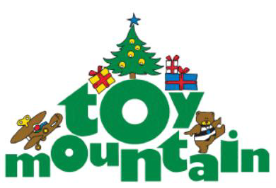 Toy Mountain,. Christmas,. new unwrapped toy