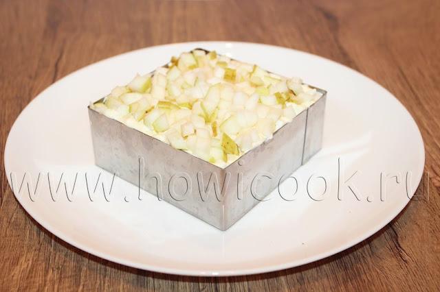 рецепт сельди под шубой с яблоком с пошаговыми фото