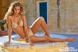 Kevin Love S Fianc C A E Kate Bock Models For Sports Illustrated