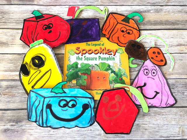 Spookley the Square Pumpkin inspired pumpkin patch