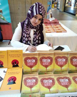 Yazar Halime Adıgüzel Nevşehir Kitap Fuarı'nda