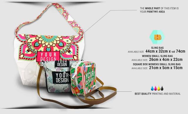 Tempah Baju dan Pelbagai Produk Menarik Dengan Design Sendiri Di Custom.my